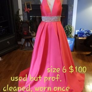 Pageant, formal, prom dress